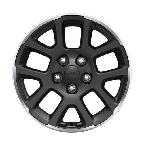18-Inch Granite Crystal Alloy Wheels