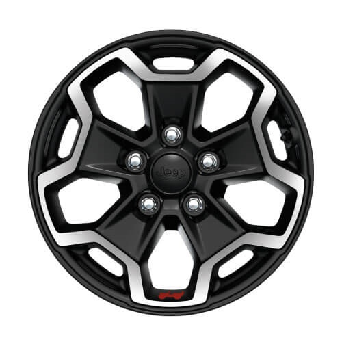 17-Inch Polished Black Alloy Wheels