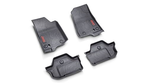 2-Door All-Weather Rubber Floor Mats