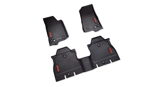 4-Door All-Weather Rubber Floor Mats