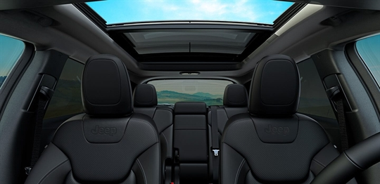 Dual-Pane Panoramic Sunroof