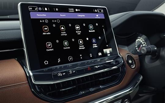10.1-Inch Digital Touchscreen