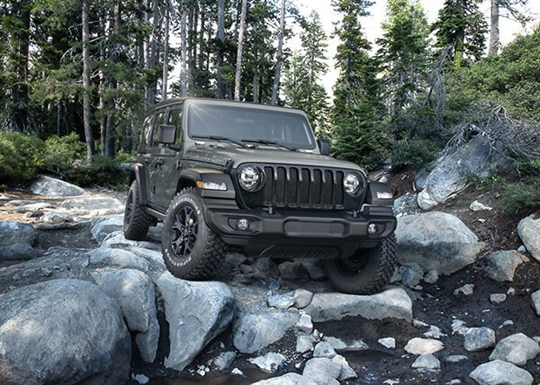 Jeep Wrangler Willys