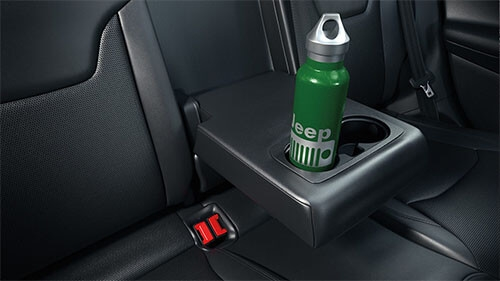 Folding Rear Seat - Down