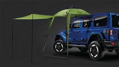 Jeep-Branded Sunshelter