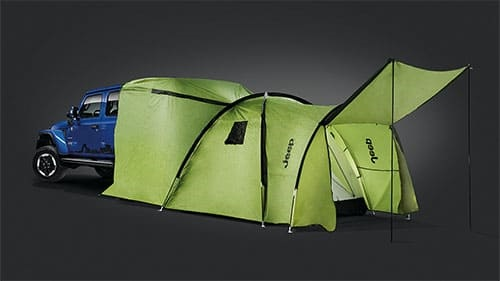 Jeep-Branded Vehicle Attachable Tent