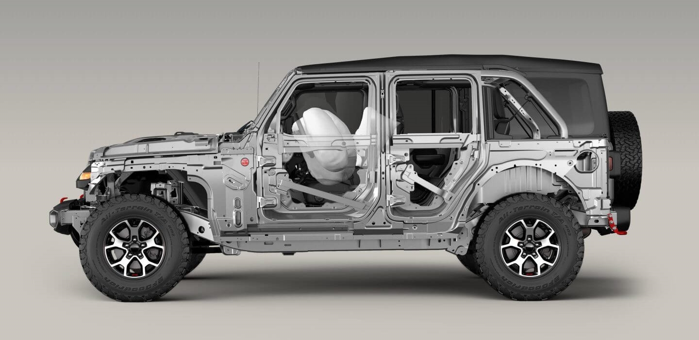 Jeep Wrangler Safety and Security