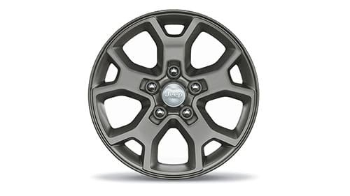 17-inch x 7.5-inch Rubicon Wheel - Satin Carbon