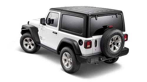 2-Door Hard Top Kit - Black, textured