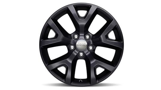 17-inch Semi-Gloss Black Wheel