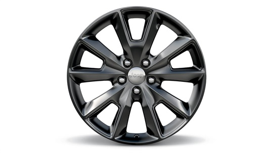 18-inch Hyper Black Aluminium Wheel
