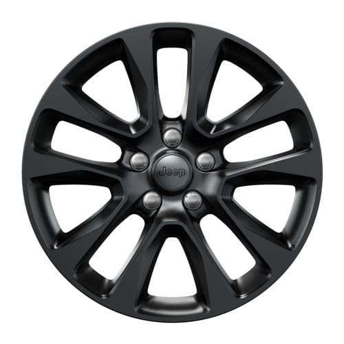 20-INCH GLOSS BLACK ALLOY WHEELS