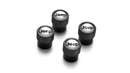 Tyre Valve Stem Caps - Black