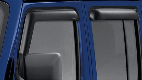 Door Side Window Air Deflectors