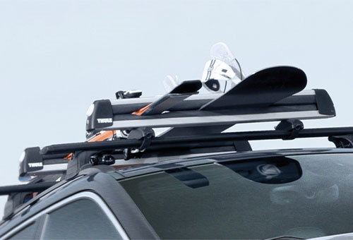 Thule 92725 Universal Flat Top Ski & Snowboard Carrier