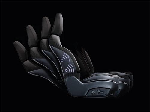 8-Way Power Adjustable Driver's Seat + 4 Way Power Lumbar System