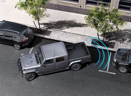 ParkSense® Rear Park Assist