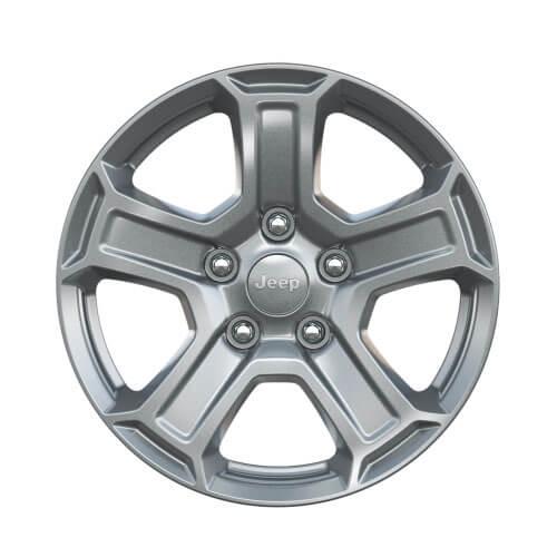 17-Inch Tech Silver Alloy Wheels