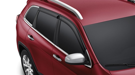 Side Window Air Deflectors - Limited