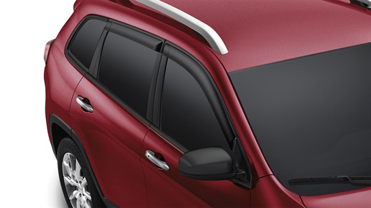 Side Window Air Deflectors - Sport, Longitude and Trailhawk