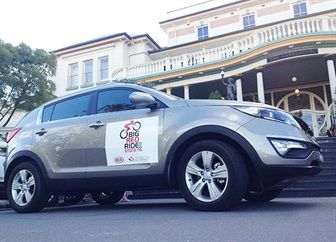 kia motors australia supports big red ride | news at wignall kia