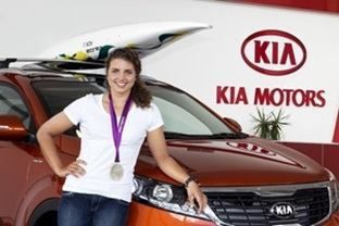kia motors australia ambassador jessica fox  | news at wignall kia