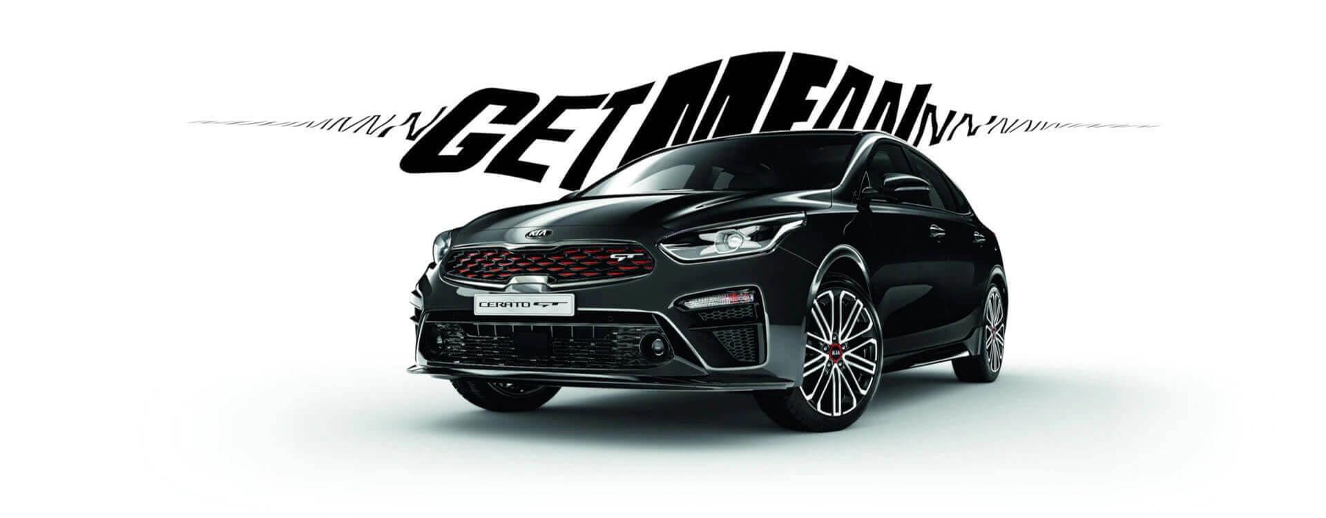Kia Cerato Hatch Get Mean Design