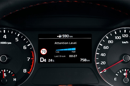 Driver Attention Alert+ with Lead Vehicle Departure*