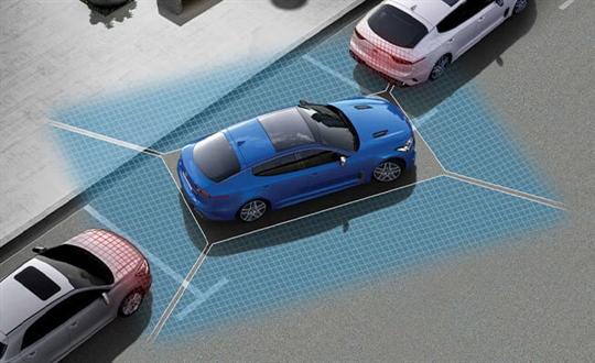 360° Camera View & front/rear parking sensors*