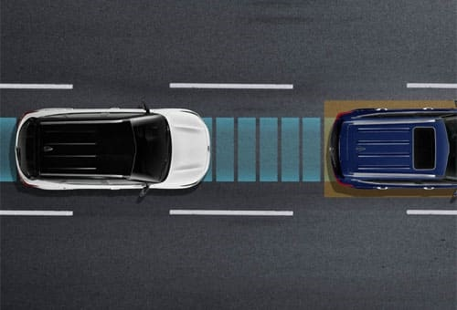 Autonomous Emergency Braking (AEB) with Forward Collision Warning (FCWS)*