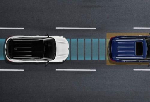 Autonomous Emergency Braking (AEB) with Forward Collision Warning (FCWS)*