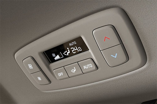 Single-zone rear climate control