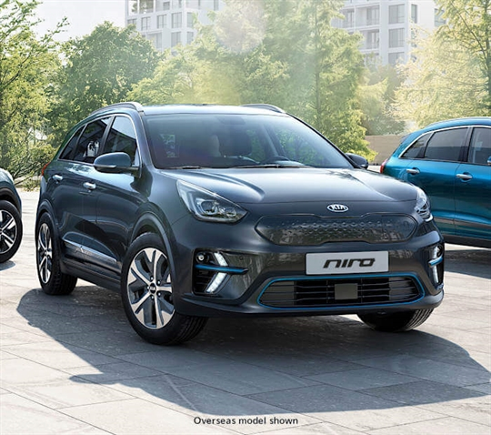 An electrified crossover SUV.