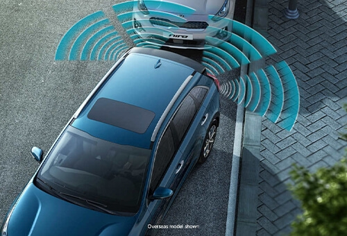 Rear view camera & reverse parking sensors
