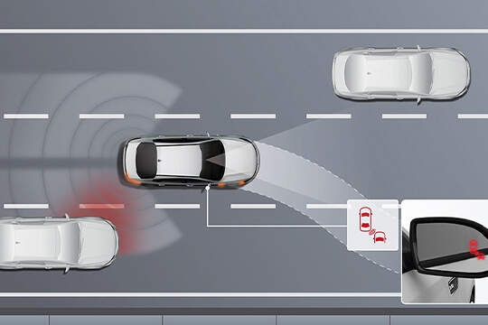 Blind Spot Collision Avoidance Assist*