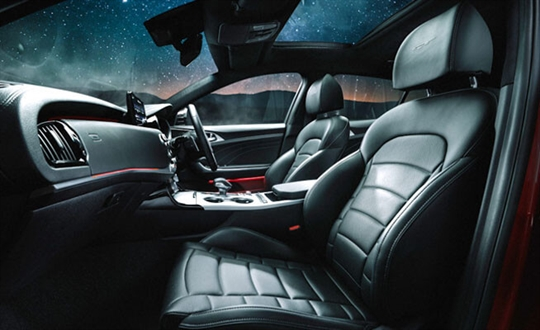 Nappa leather appointed seats