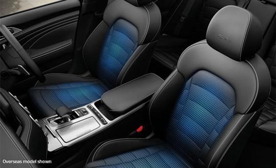 Heated & ventilated seats