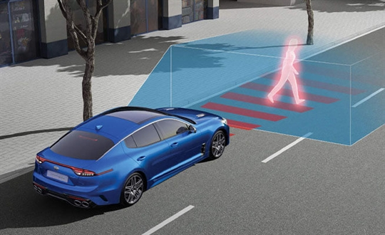 Autonomous Emergency Braking (Car/Pedestrian/Cyclist)*