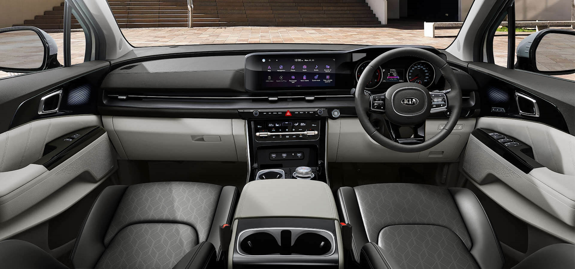 Kia Carnival Interior Technology