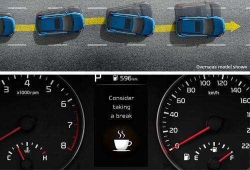 Driver Attention Alert (DAA)*