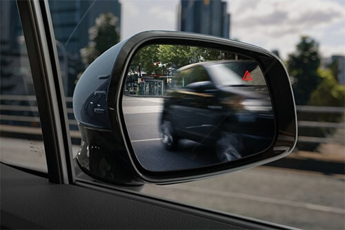 Blind Spot Collision Avoidance Assist*