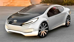 Ray(KCD-6) - The Ray concept is Kia's first hybrid to combine futuristic style and new green technologies. Designed with light-weight, but rigid and recycled materials, it redefines what an eco-friendly car should be. Modern style and green technolog