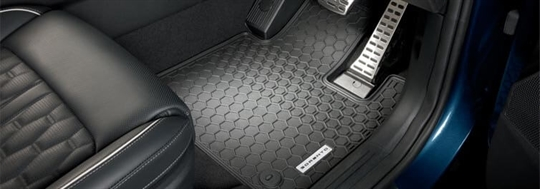 Tailored All Weather Floor Mats