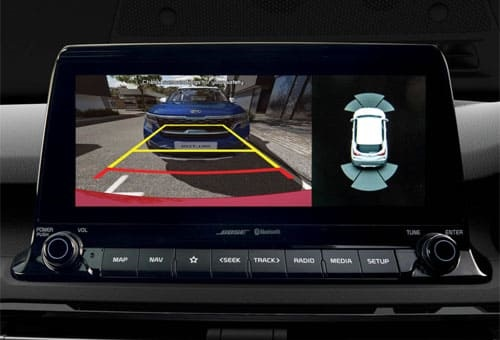 Reversing Camera with Dynamic Guidelines*