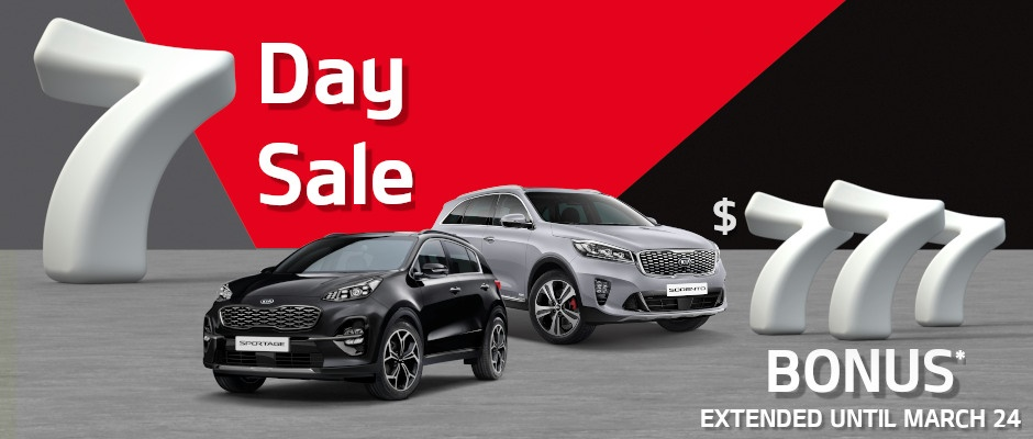7 Day Sale Offers At Essendon Kia