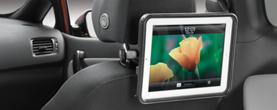 iPad Cradle - Rear Seat Entertainment