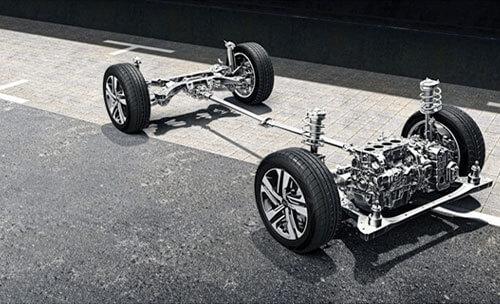 Advanced AWD Coupling.