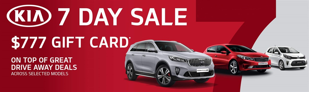 7 Day Sale Offers At Joe Crisafio Kia
