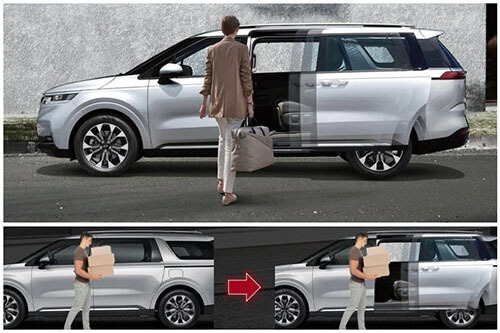 Hands-free smart power sliding doors & tailgate