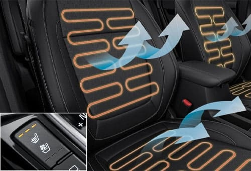 Ventilated & Heated Front Seats